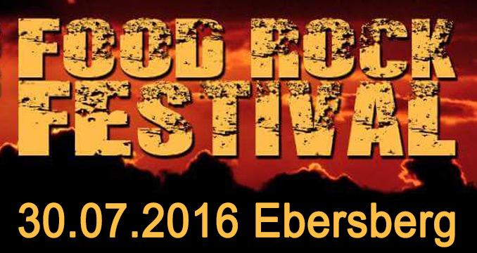 Lecker trifft laut: Das 1. Food Rock Festival in Ebersberg!