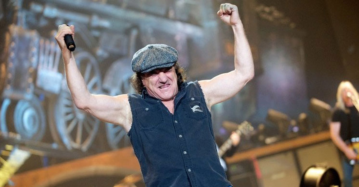 "Brian Johnson: ""He's back!"""