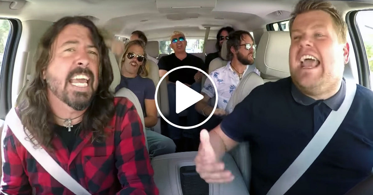 Foo Fighters: Carpool Karaoke mit James Corden