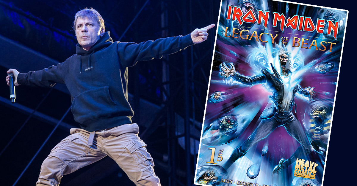 """Legacy Of The Beast"": Iron-Maiden-Comic erscheint im Oktober"