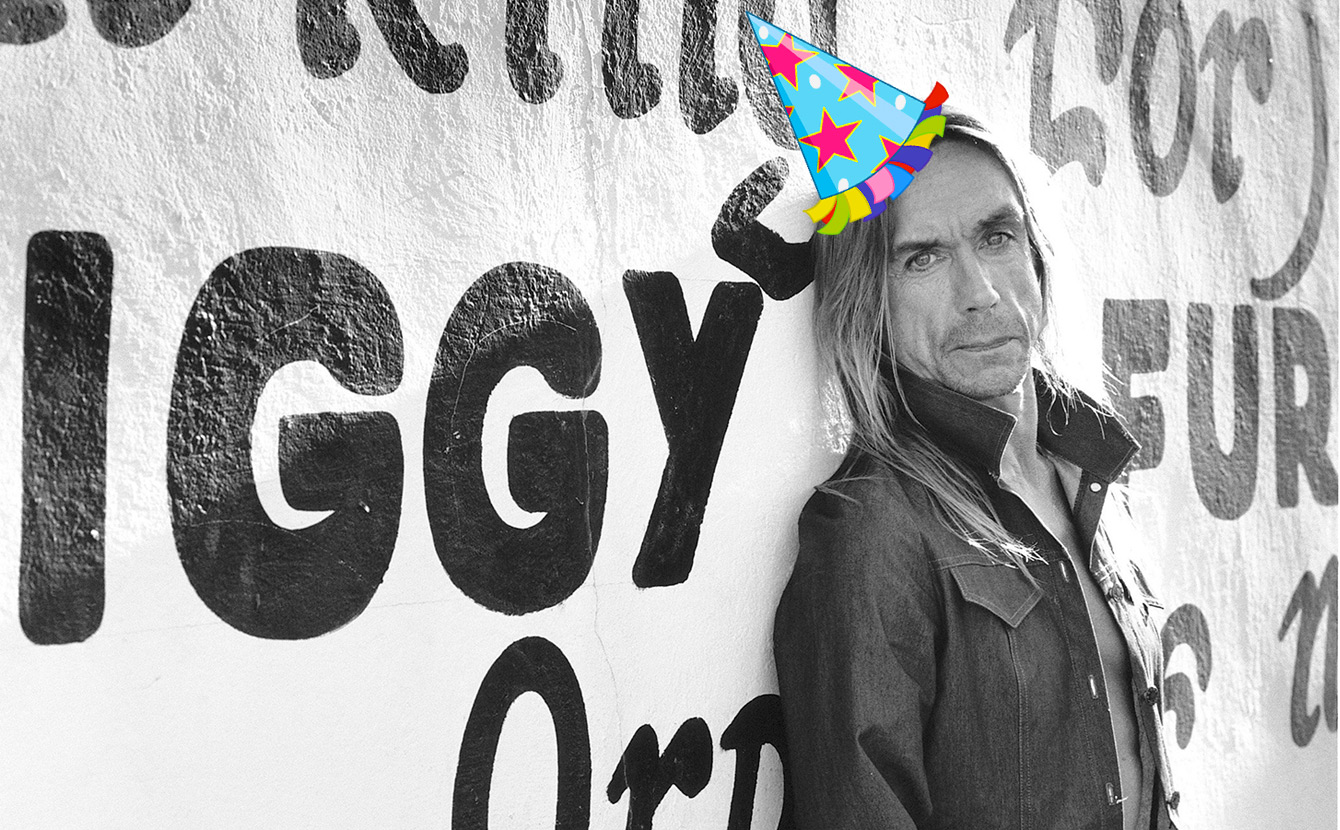 Unser Samstags-Special am 22.04.: Happy Birthday, Iggy Pop!