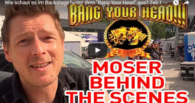 Backstage beim Bang Your Head!!! - Thomas 'Metal' Mosers exklusive Einblicke!