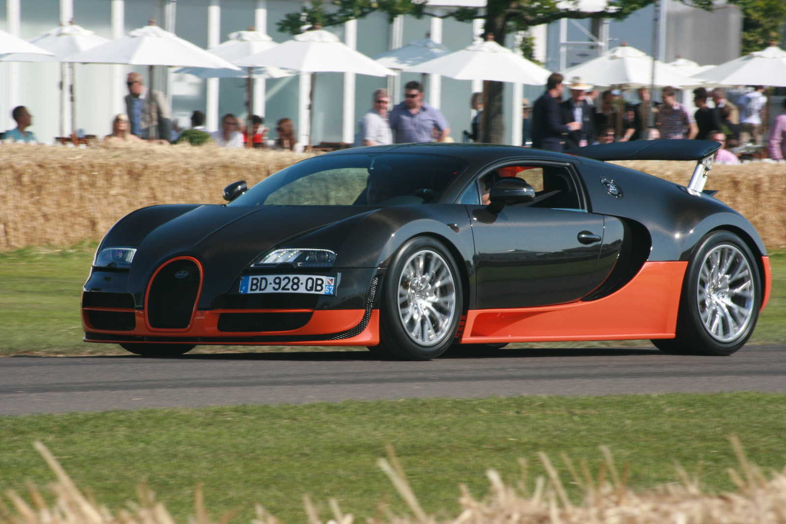 Platz 1: Bugatti Veyron Supersport