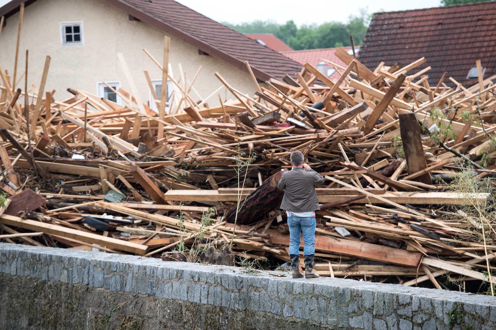 Rottal Inn überschwemmung