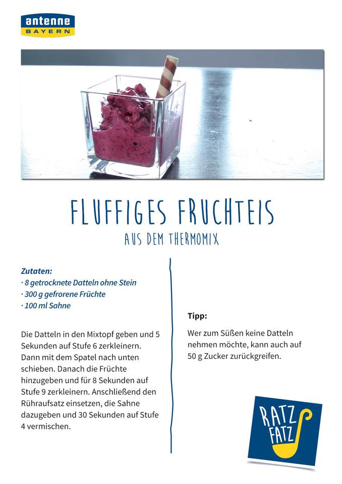 fluffiges fruchteis aus dem thermomix antenne bayern. Black Bedroom Furniture Sets. Home Design Ideas