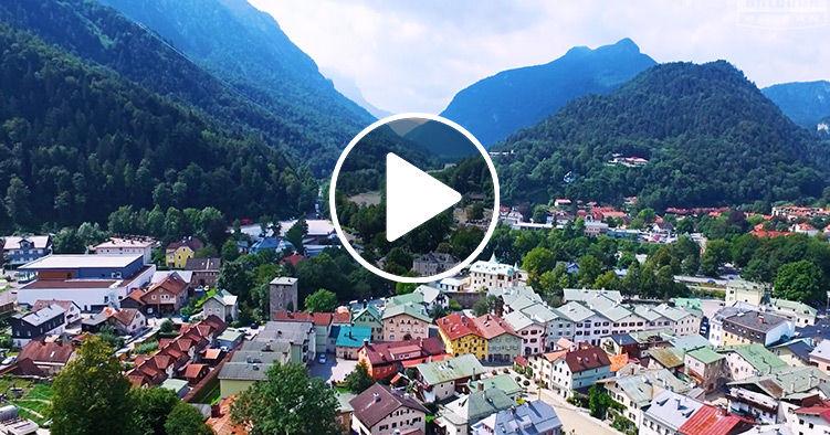 Bayern von oben  Bad Reichenhall  ANTENNE BAYERN