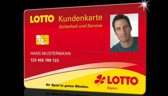 Lotto Bayern Kundenkarte