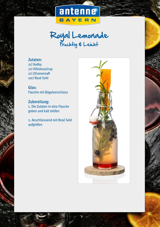 """Homemade Lemonade """"Fruchtig & Leicht"""": Royal Lemonade ...  Homemade Lemona..."""