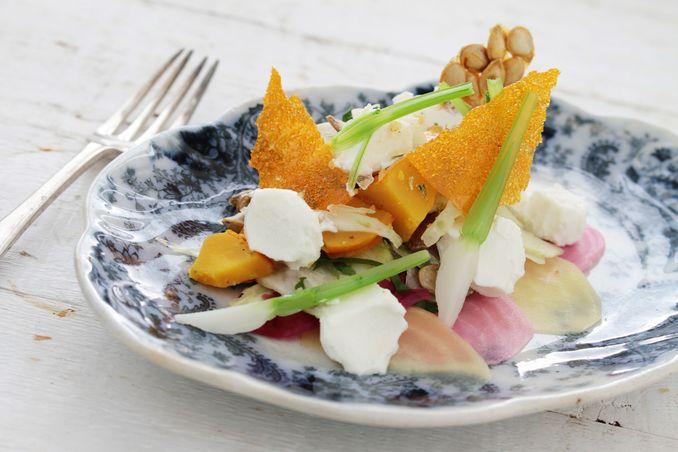 salat aus gr&uuml