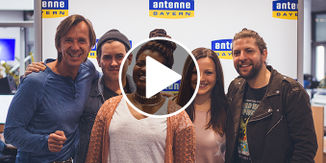 Welshly Arms - Legendary Unplugged in den ANTENNE BAYERN Studios