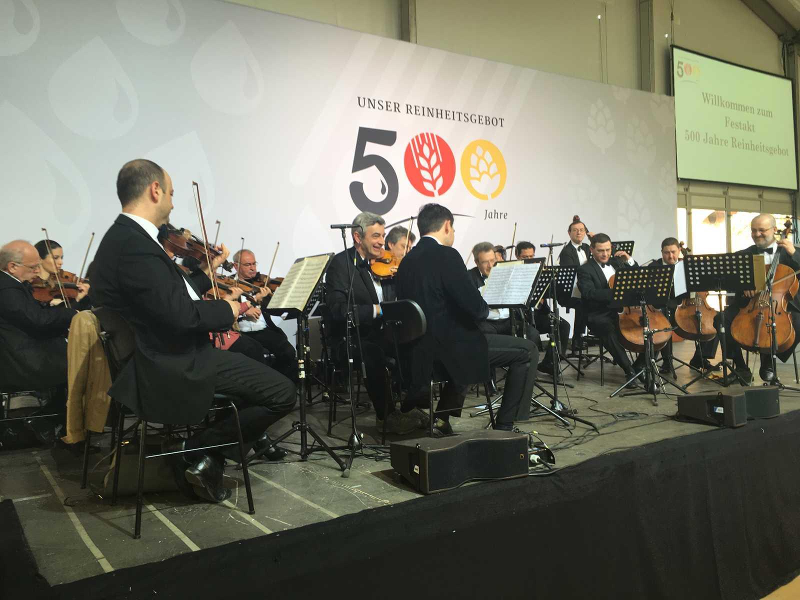 500 Jahre Reinheitsgebot Großer Festakt in Ingolstadt mit
