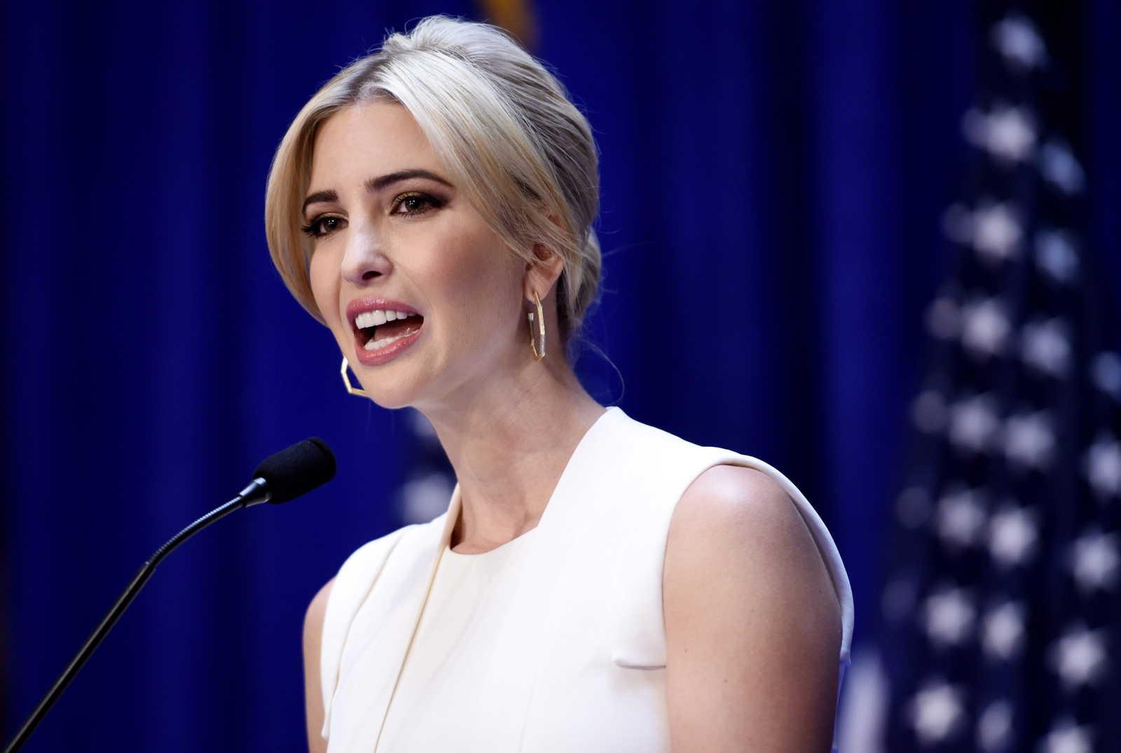 Дочь трампа фото без макияжа