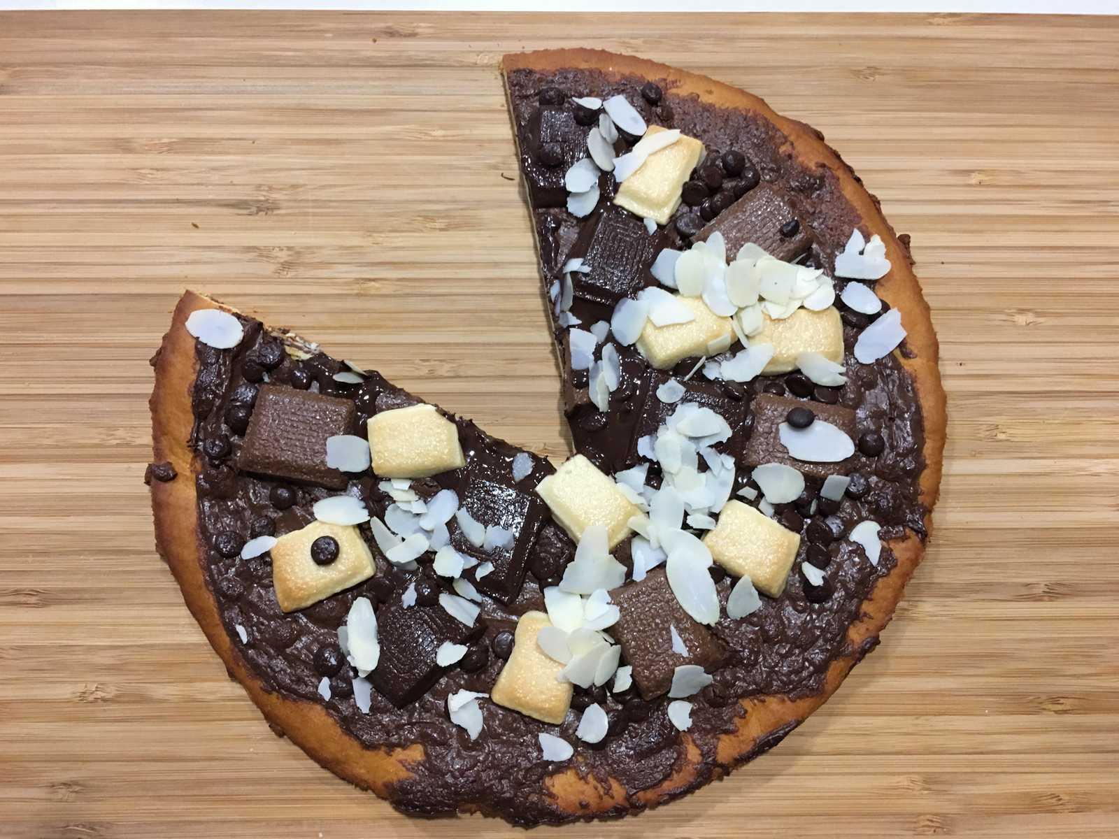 Schoko Pizza