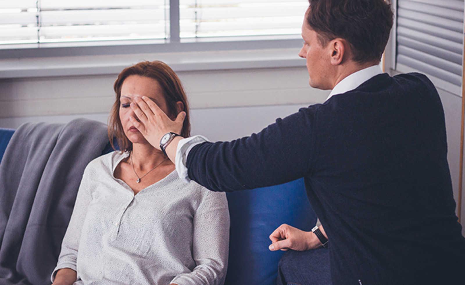Wie dem Bauch die Operation zu entgehen