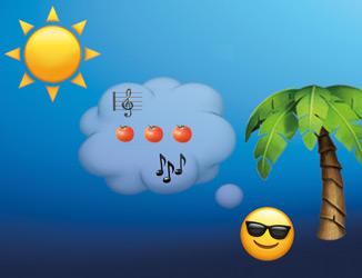 Das große Sommer-Hit Emoji Rätsel: Welche Sommer-Songs suchen wir?