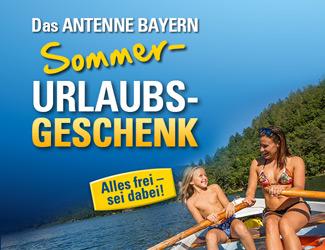 Das ANTENNE BAYERN Sommer-Urlaubs-Geschenk