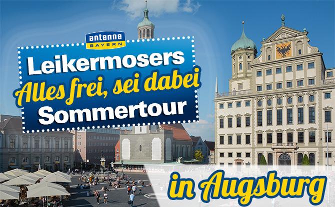 """Augsburg: """"Alles frei, sei dabei"""""""