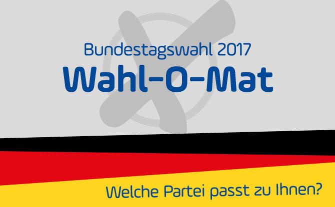 Der Wahl-O-Mat zur Bundestagswahl 2017