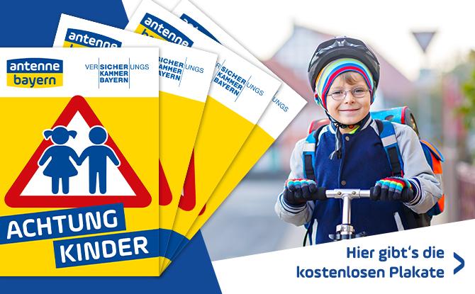ACHTUNG KINDER-Plakate: Jetzt kostenlos bestellen