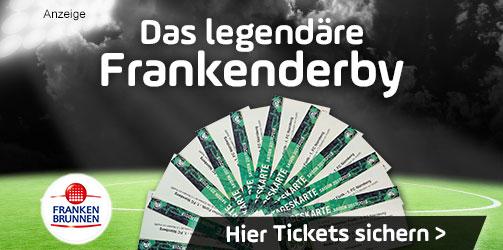 Tickets für das Frankenderby