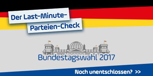 Der ANTENNE BAYERN Last-Minute-Parteien-Check