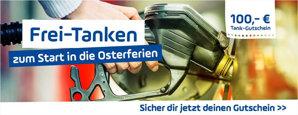 Frei Tanken zum Start in die Osterferien - Hier Gutscheine sichern!