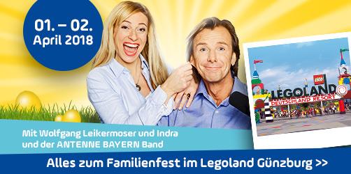 Das ANTENNE BAYERN-Familienfest im LEGOLAND® Günzburg 2018