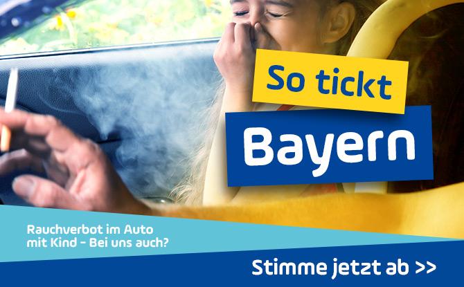 Rauchverbot im Auto mit Kind - soll das auch bei uns eingeführt werden?