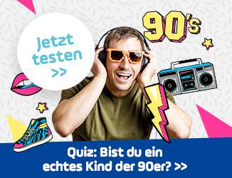 Bist du ein Kind der 90er? Mach' den Test!