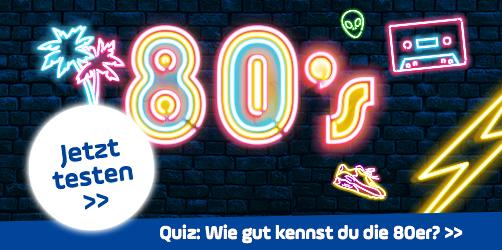 Wie gut kennst du die 80er? Mach hier den Test!