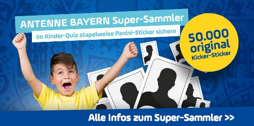 Werdet ANTENNE BAYERN Super-Sammler!