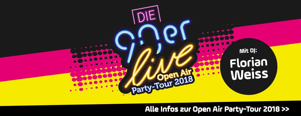 """ANTENNE BAYERN präsentiert: """"Die 90er live"""" in Regensburg"""