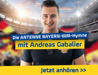 Die ANTENNE BAYERN-WM-Hymne mit Andreas Gabalier