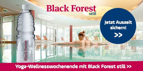 Wellness und Entspannung mit Black Forest still