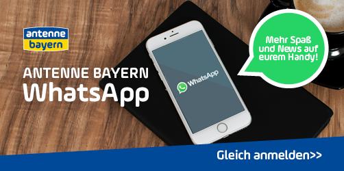 Die ANTENNE BAYERN WhatsApp