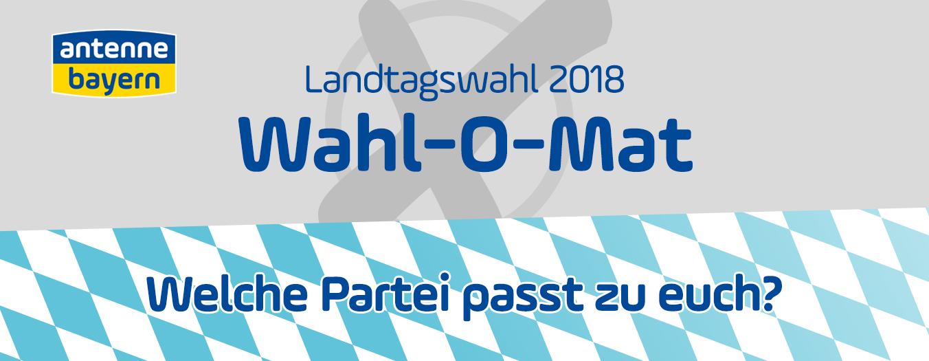 Der Wahl-O-Mat zur Landtagswahl 2018