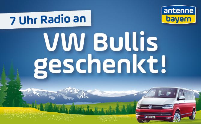 ANTENNE BAYERN – VW Bullis geschenkt!