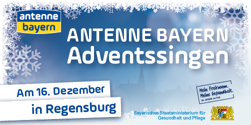Das ANTENNE BAYERN Adventssingen