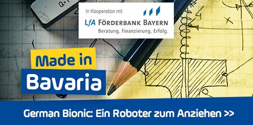 German Bionic: Ein Roboter zum Anziehen