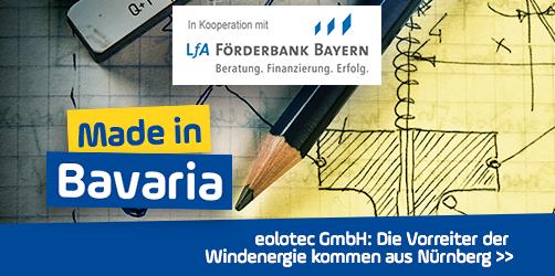 eolotec GmbH: Die Vorreiter der Windenergie kommen aus Nürnberg