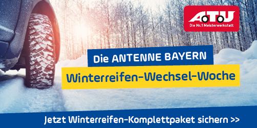 Die ANTENNE BAYERN Winterreifen-Wechsel-Woche
