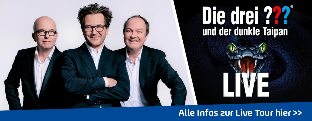 ANTENNE BAYERN präsentiert: <em> Die drei ???</em> LIVE in München