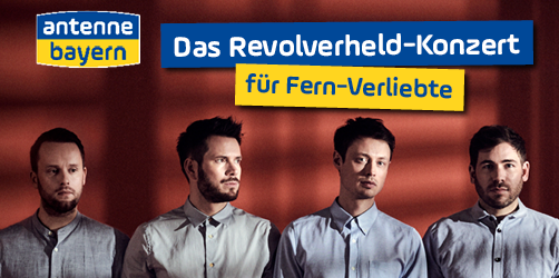 Revolverheld-Konzert für Fern-Verliebte