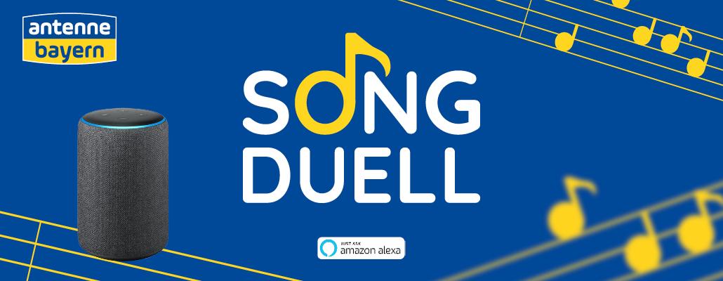 Das ANTENNE BAYERN Song Duell für Alexa