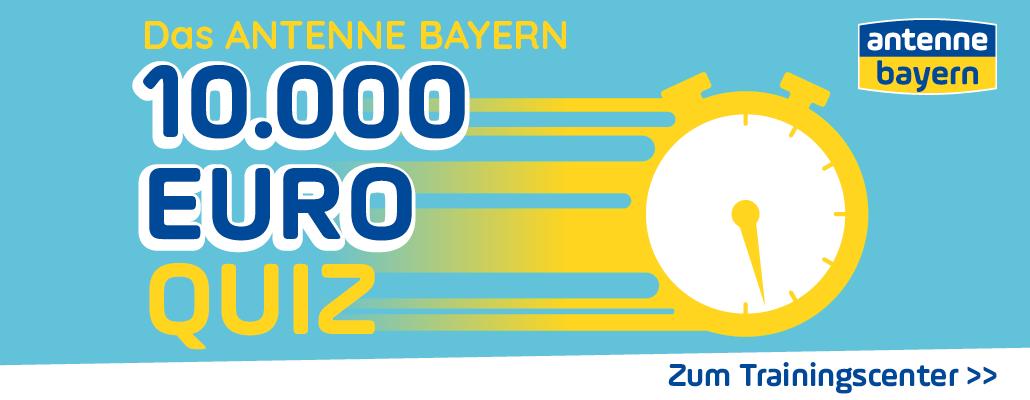 Das ANTENNE BAYERN 10.000 Euro Quiz