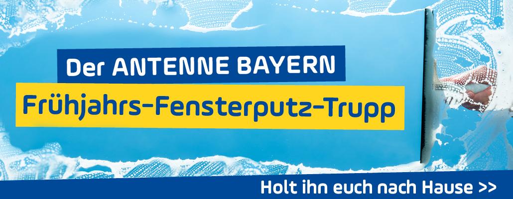 <em> Wischen is possible </em>: Der ANTENNE BAYERN Frühjahrs-Fensterputz-Trupp kommt zu euch!