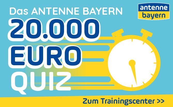 Das ANTENNE BAYERN 20.000 Euro Quiz