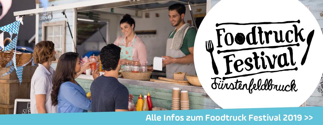 ANTENNE BAYERN präsentiert: Das Foodtruck Festival in Fürstenfeldbruck