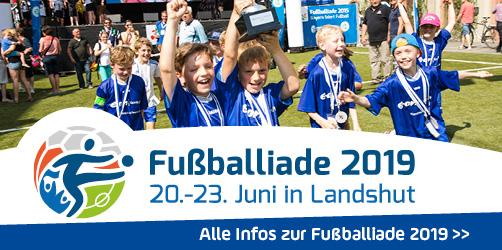 ANTENNE BAYERN präsentiert: Die Fußballiade 2019 in Landshut
