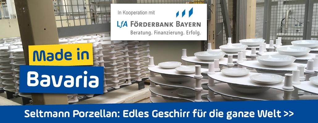 <em>Seltmann Porzellan</em> in der Oberpfalz: Edles Geschirr für die ganze Welt